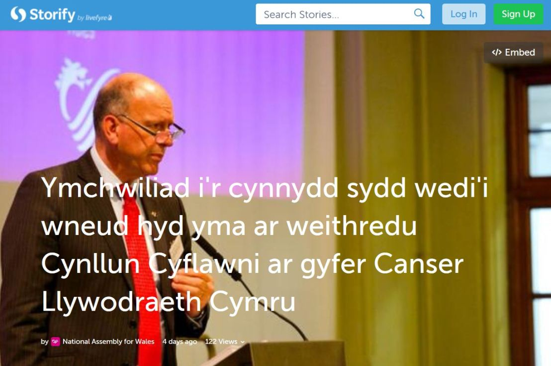 Y Pwyllgor Iechyd a Gofal Cymdeithasol – gwaith ar gyfer tymor yr hydref2014