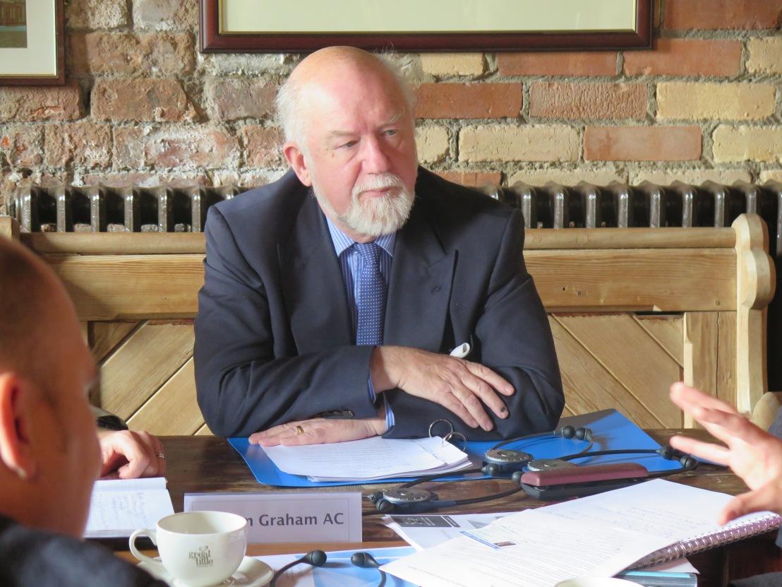 William Graham AC, Cadeirydd y Pwyllgor Menter a Busnes