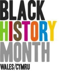 Black History Month Wales logo