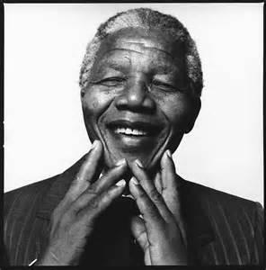 Delwedd o Nelson Mandela