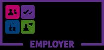 Logo 'Hyderus o ran Anabledd'