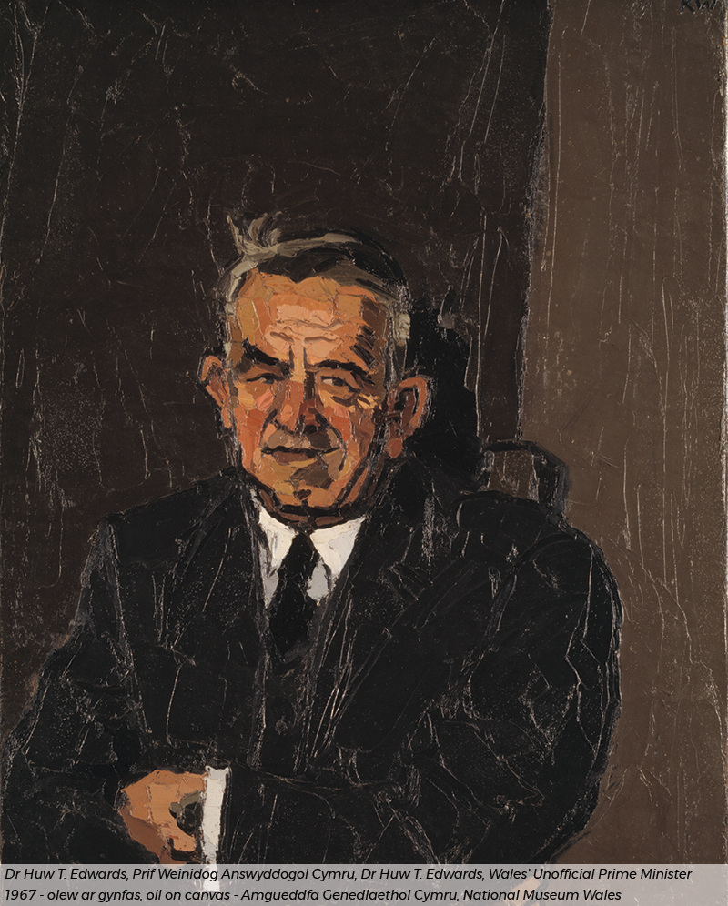 Kyffin Williams - Dr Huw T Williams portrait